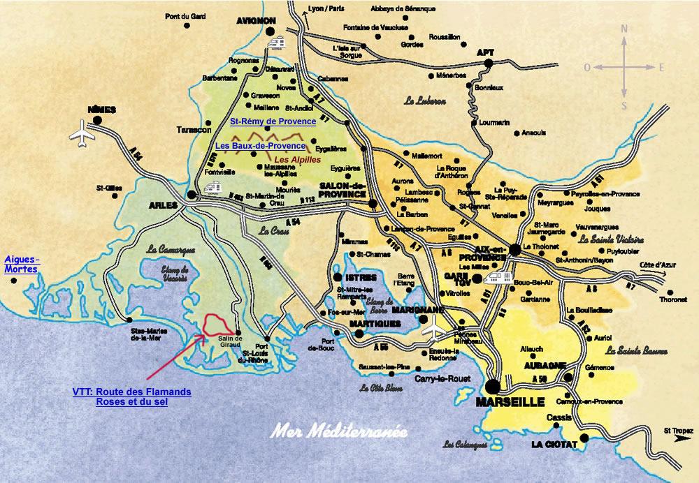 Super Les Pius - St Rhémy de Provence, escalade aux Alpilles et VTT en  FC62